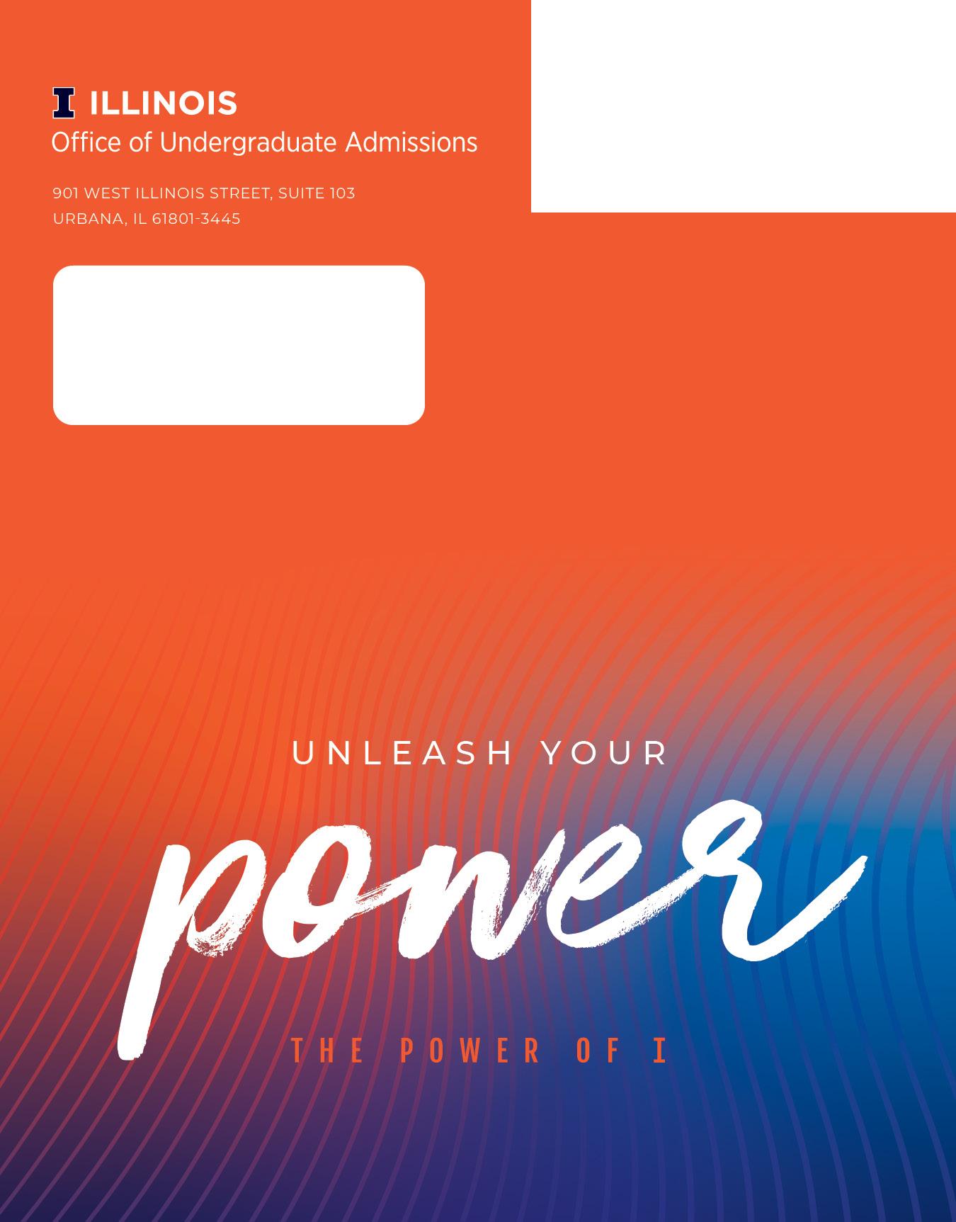 2021 Notice of Admission Packet Envelope
